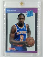 2019-20 Panini Instant Donruss Rated Rookie RJ Barrett RC #3, Knicks, #'d/3431