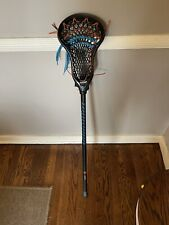 "Warrior Lacrosse Stick Burn Complete Attack Black - 40.5"" Used"