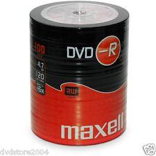 5246 Maxell 275733 Dvd-r 16x Shrink Termoretratto 100pz