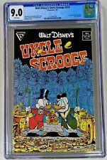 Walt Disney's Uncle Scrooge #219 CGC 9.0 WP NM Gladstone 1987 1st Don Rosa