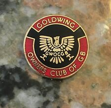 Honda Gold Wing Owners Club Pin Of GB