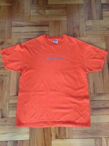 Vintage GDC Game Developers Conference 2000 T Shirt. Size XL. Dreamcast Orange