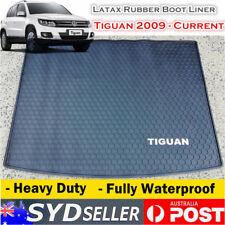 Customized Waterproof Rubber Boot Liner Cargo Mat Volkswagen Tiguan 2009 - 2017