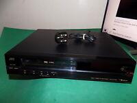 JVC HR-D400 Video Cassette Recorder Player VHS VCR Black 1980s FAULTY/SPARES