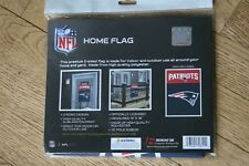 """New England Patriots Nfl 13""""x18"""" Officially Licensed Double Sided Home Flag New"""