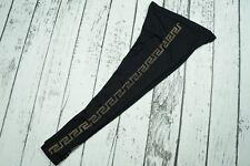 Used Versace For H&M Black Monogram Logo Embellished Leggings EUR 38 US 8 US8