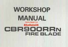 Genuine Honda CBR900RR-N FireBlade (1992) Factory Shop Manual CBR 900 RR SC28