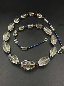 Rare and unique crystals quartz beads from Pyu dynasty from south east Asia