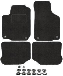 Auto Fußmatten Seat Toledo 2 1M 1998-2004 - Grau Nadelfilz 4tlg av clips