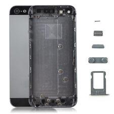Gehäuse für iPhone 5 Akkudeckel Backcover Rückseite Schwarz Vormontiert 5