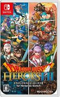 New Nintendo Switch Dragon Quest Heroes I II Game soft 1 2 Square Enix JAPAN