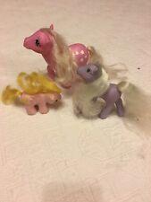 My Little Pony G1 Original 80s Bundle inc Cotton Candy