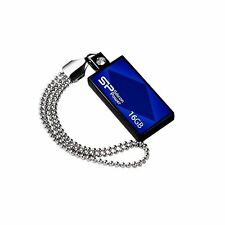 Silicon Power Touch 810 16GB USB - USB 2.0 Blue Flash Drive