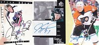 94-95 Be A Player Jeremy Roenick Auto Upper Deck 1994