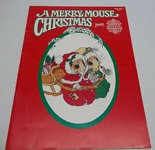 A Merry-Mouse Christmas from Designs by Gloria & Pat Book MM-1 Cross stitch