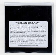 (IC756) Kitty Daisy & Lewis, Down On My Knees - DJ CD
