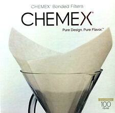 Chemex - Bonded White Filter Squares - Box of 100 FS-100 - Best Way To Brew!