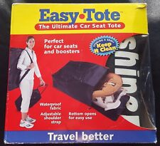 Easy Tote The Ultimate Car Seat Tote By Sunshine Kids - Travel Better - NEW