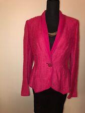 Escada Blazer 40 Pink Fashion Evening Prom Wedding