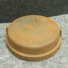 """(1) Unbranded Cast Iron 6"""" Pipe Cap Fitting NOS NEW"""