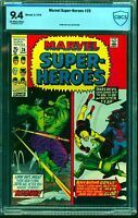 Marvel Super-heroes #26 CBCS NM 9.4 Off White to White Comics