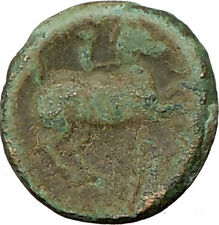 Philip II Alexander the Great Dad OLYMPIC GAMES Ancient Greek Coin Horse ii19440