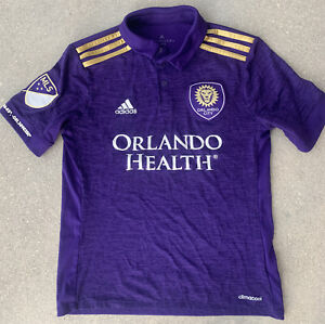 Adidas Orlando City SC Youth Kids Home Soccer Jersey Size M (11-12 y.o.)