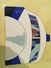 Real Ghostbusters Animation Cel  Ghosts on plane