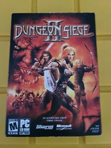 Dungeon Siege II 2 by MICROSOFT PC CD-ROM Video Game - Factory Sealed! NEW!