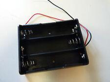 Batteriehalter für 3x Lithium 3,7V Typ 18650 mit Anschlußkabeln
