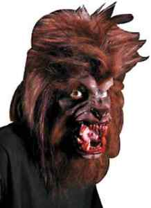 Werewolf Were Wolf Lycan Fancy Dress Halloween Costume Makeup Latex Prosthetic