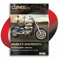 2006-2009 Harley Davidson FXDL Dyna Low Rider Repair Manual Clymer M254 Service