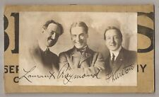 Vintage Photo Of Eugene Laurant Maurice Raymond & Howard Thurston