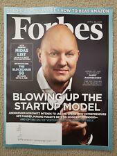 Marc Andreessen, Daniel Schwartz, Ben Horowitz Forbes Magazine April 2019