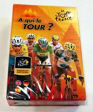 """Jeu de cartes Le """"tour"""" de France """"A qui le tour""""?  / Produit officiel"""