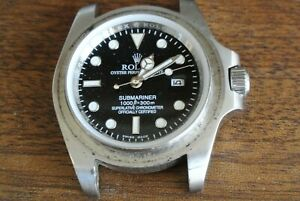 """Submariner""  Divers watch.  Spares repairs"