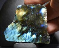 Labradorite Polished Natural Crystal Madagascar Rough Stone Healing Heart