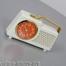 alte Europa Tischuhr Wecker Spieluhr Kofferradio Dr. Schiwago Retro 60er Jahre