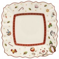 Villeroy & Boch TOY'S DELIGHT White Square Bread Plate
