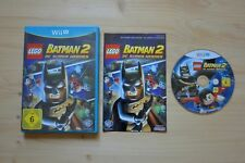 Wii U-lego batman 2: DC Super Heroes - (OVP, con instrucciones)