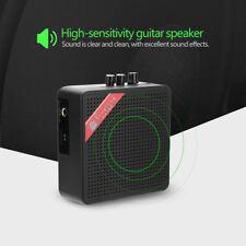 5W Mini Electric Guitar Bass Amplifier Amp Speaker Volume Tone Control Bluetooth
