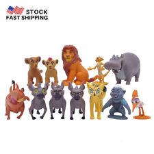 12 PCS The Lion King Mufasa Pumbaa Simba Figure Kids Gift Cake Topper Toy