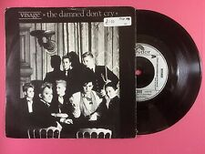 Visage - The Damned Don't Cry / Motivation, Polydor POSP-390 Ex A1/B1 Press
