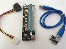 PCI-E 1X to 16X Riser USB 3.0 4 pin molex with 6 cappasitors