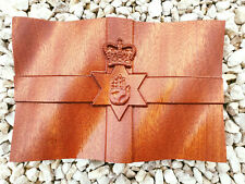 More details for unique carved red hand of ulster northern ireland wooden flag