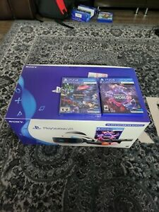 Sony PlayStation VR Bundle, 2 Games and New Display Station