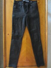 WOMENS GUESS CURVE X TEXTURED JEGGINGS JEANS LEGGINGS SKINNY STRETCH SIZE 28 NEW