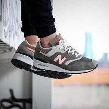 New Balance Classic M997CHT Made In The USA NEW RARE Size 7.5 Gray Orange 997