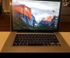 """Apple MacBook Pro 15""""  4GB Ram  320GB HD  (Mid 2010)"""