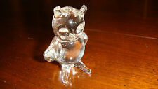 """Hand Blown Solid Glass Owl - Made in USA - 2"""" Tall"""
